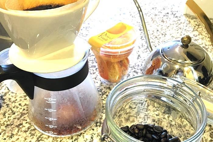 朝のcoffee